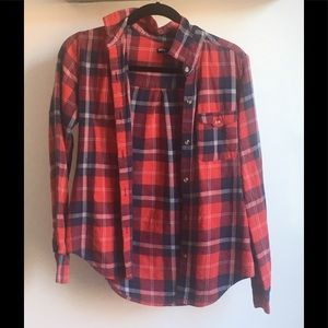 Urban Outfitters BDG red flannel
